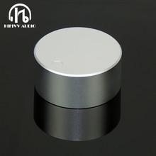 Hifi manopola amp manopola Del Volume In Alluminio 1pc Diametro 48 millimetri Altezza 22 millimetri manopola dellamplificatore altoparlante manopola del Potenziometro