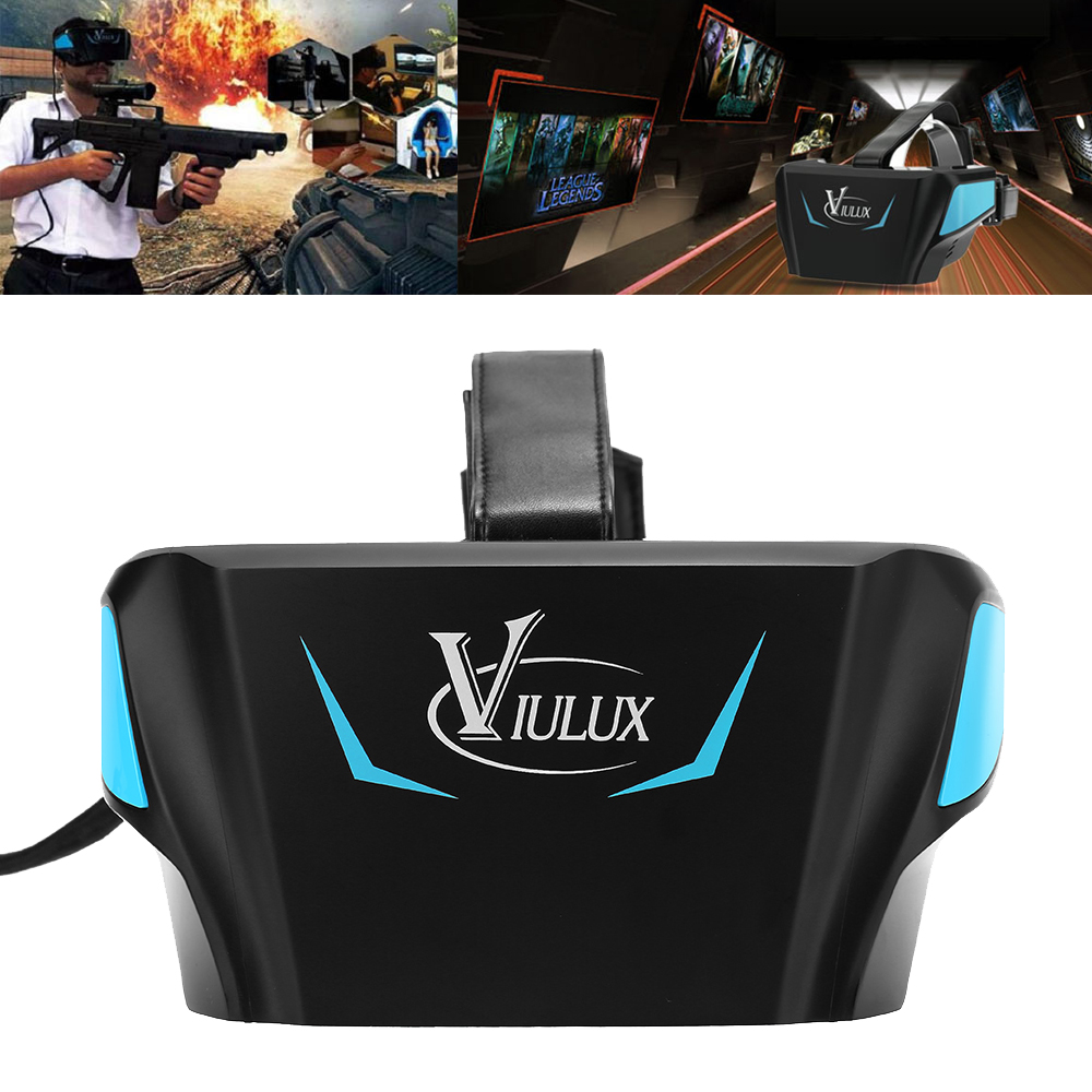 VIULUX V1 VR Virtual Reality 3D PC Glasses VR Heads VR Helmet Game Movie PC connected
