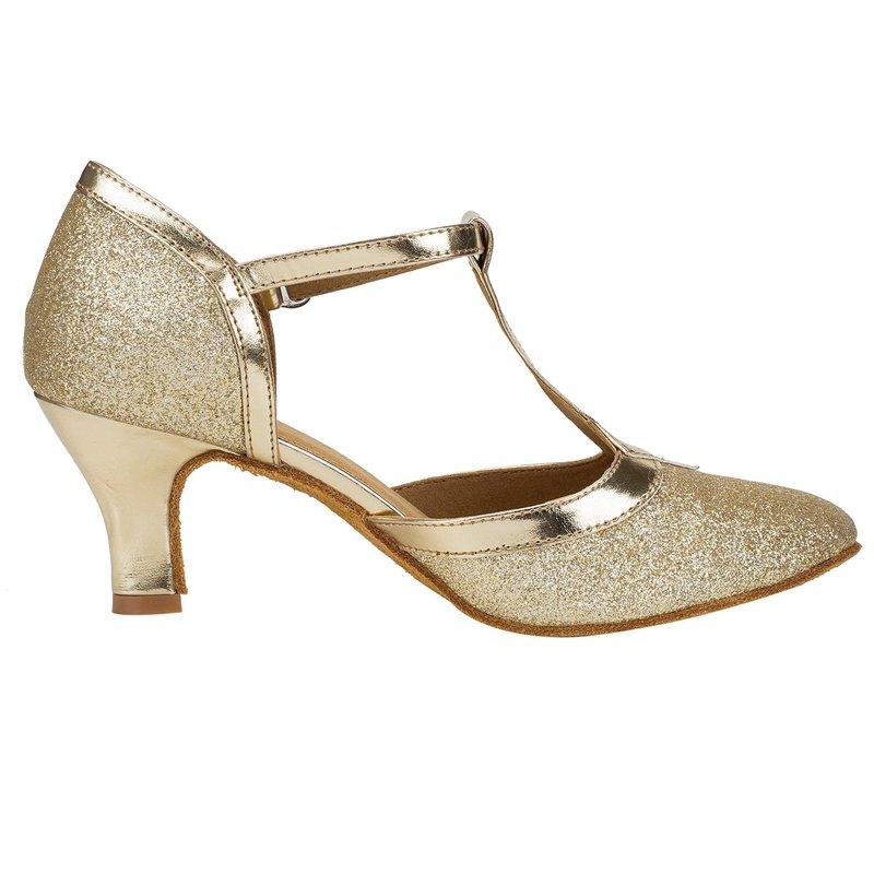 HXYOO 2018 In Stock Glitter Closed Toe Ballroom Shoes Women Salsa ... a8242a96dc80