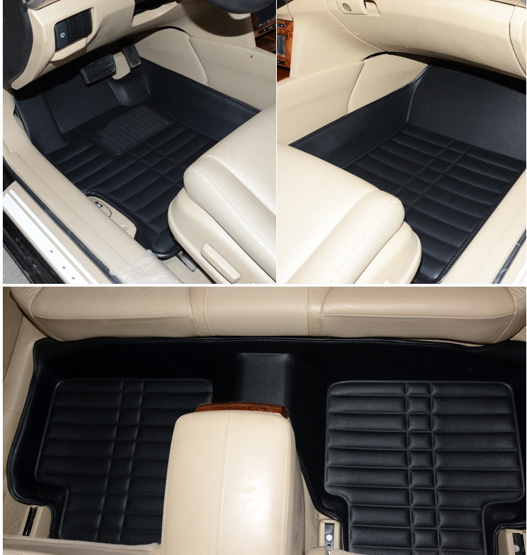 Bets quality & Free shipping! Custom special floor mats for BMW X1 F48 2018-2016 wear-resisting non-slip car carpets for X1 2017