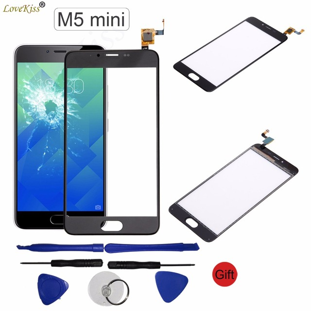 M5 Mini Note Touchscreen Front Panel For Meizu M5S M5 Note Mini Touch Screen Sensor Digitizer LCD Display Glass Replacement Tool