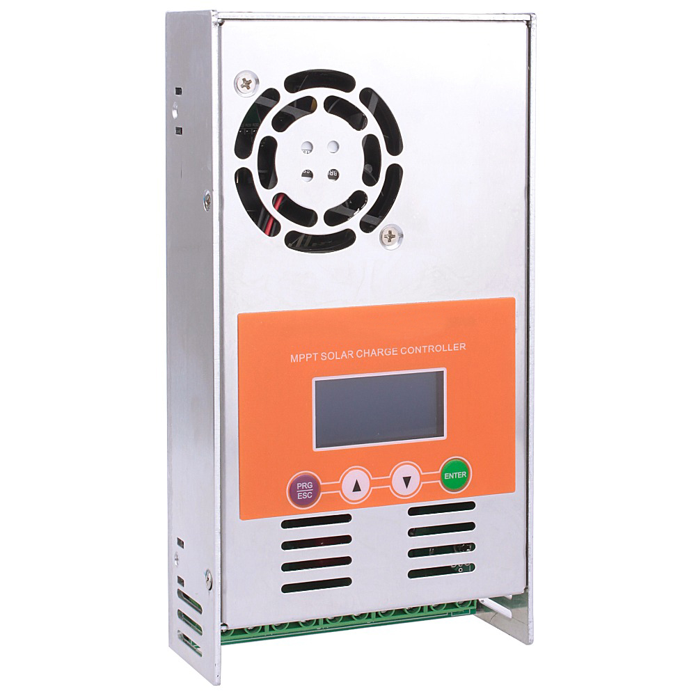 30A 40A 50A 60A MPPT Solar Charge Controller with LCD for 12V/24V/36V/48VDC Max 190VDC Input Vented Sealed Gel Nicd Li Bat