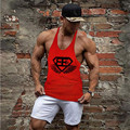 2016 New Mens Singlets Oblique Hem Fitness Singlets Stringer Mens Stringer Tank Tops Stringer gymshark Vest Tank Top Men