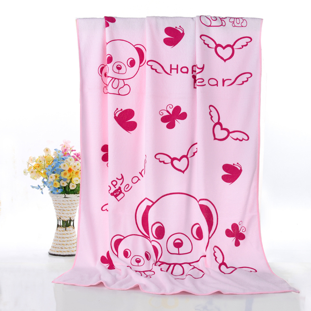 Towel Soft Cotton Baby Animal Bath Hydrofiele Doeken Baby 2 Years Boy Girl Microfiber Children Towels For Bathroom Large 50A058