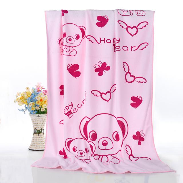 Towel suave algodón del bebé animal baño hydrofiele doeken bebé 2 años muchacha del muchacho de los niños toallas de baño de microfibra grande 50a058