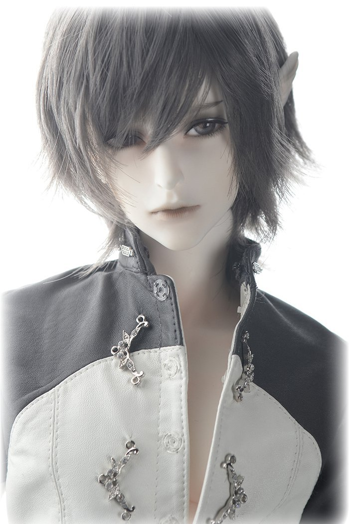 1/3rd  65CM BJD nude doll Wolf The Knight,BJD/SD doll boy Elves ears.not include clothes;wig;shoes and other access&ies uncle 1 3 1 4 1 6 doll accessories for bjd sd bjd eyelashes for doll 1 pair tx 03
