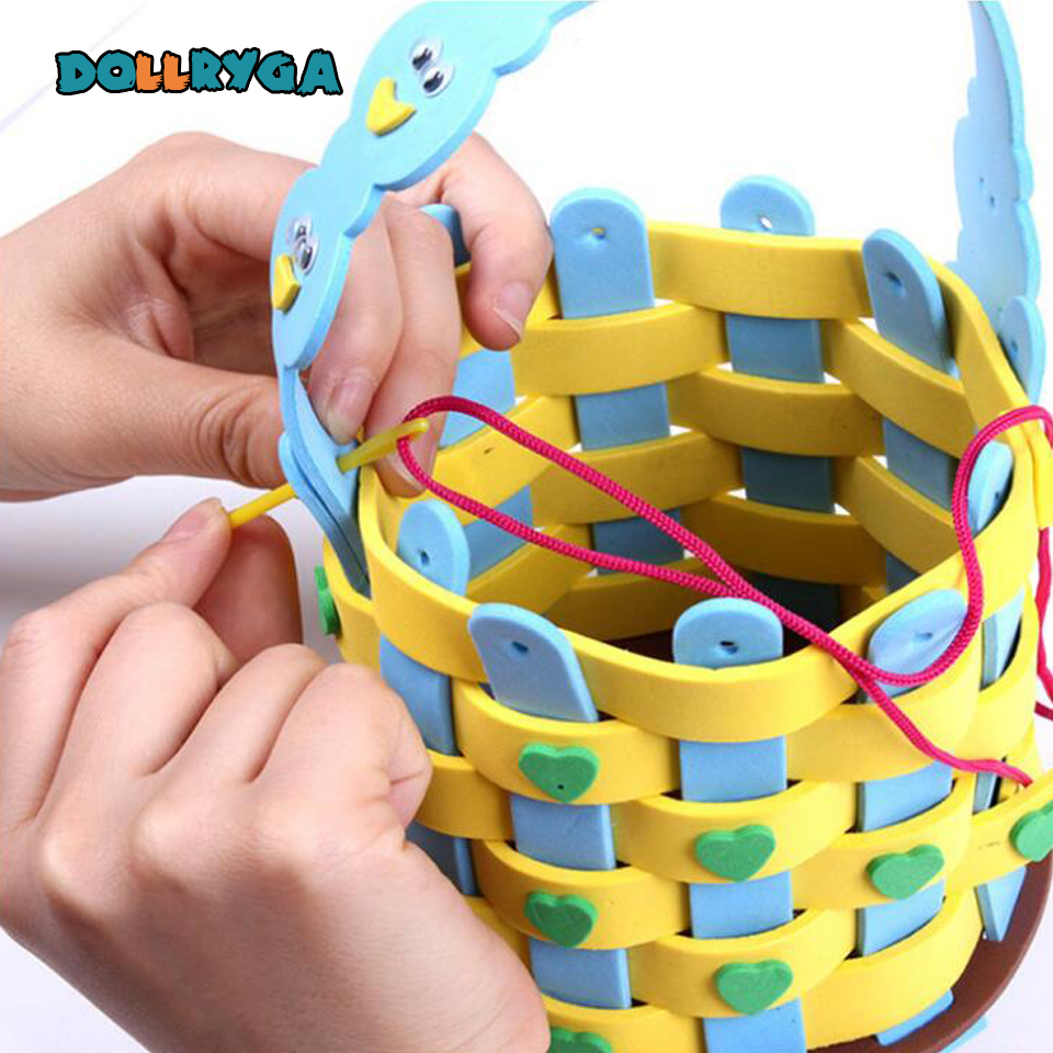 DOLLRYGA Lote Kids Toy Children Craft Kinder Spielzeug Juguetes Infantiles DIY Eva Para Artesanato Manualidades Bricolage Enfant