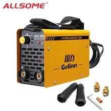 Welding-Machine ALLSOME ZX7-200 MMA Portable 220V IGBT for Iron Steel Steel