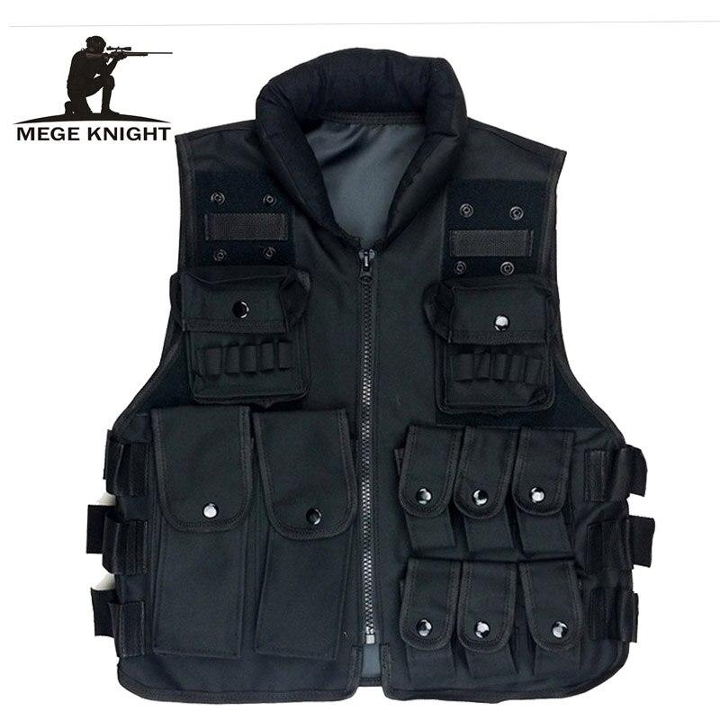 Paintball Tactical Molle CIRAS Vest Airsoft Paintball Combat Vest Magazine Pouch Utility Bag Releasable Armor Carrier Vest