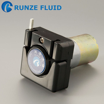Small Size 12v dc Peristaltic Pump Easy Load Water Dose