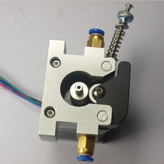 3 D printer parts up-grade DIY Reprap Kossel all-metal 42 stepper motor bowden extruder alimunum alloy for 1.75/3 mm filament картридж epson c13s015637 для epson lq 670 680 860 2500 2550 1060 черный