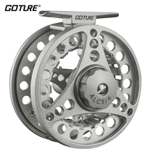 Goture Large Arbor ALC Fly Fishing Reel 3/4,5/6,7/8 WT Aluminum Frame Spool 2+1BB Left Right Hand Die Casting Fly Reel