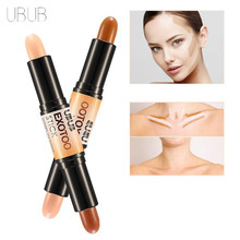 UBUB Brand 1pc 2 In 1 Double Facial Cover Concealer Stick Base Comestics Corrective Concealer Hide The Blemish Facial Make Up