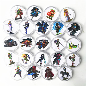 Image 5 - 24Pcs/set Data Young Link Set Zelda Breath for the Wild NFC Card Of Amiibo Collection Coin Tag Ntag215