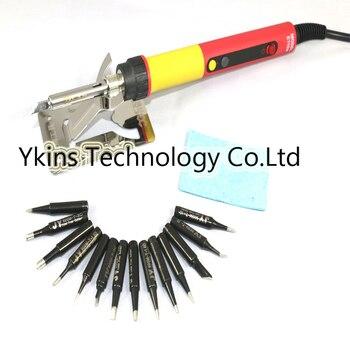 CXG E60W E90W E110W Digital LCD Einstellbarer NC thermostat Elektrische lötkolben griff Schweißen reparatur + 14 stücke JY löten spitze