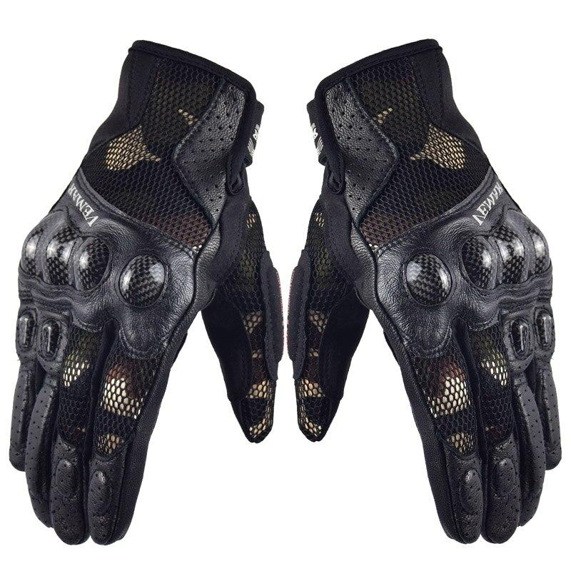 Marke Neue Vemar Carbon Motocross Motorrad Handschuhe Touchscreen Atmungssicherheitsschuhe Motoqueiro Guantes Motocicleta Luvas M-XXL