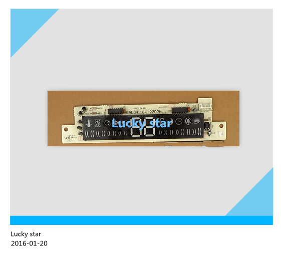 95% new for Galanz air conditioning Display board GAL0411GK-22DPH board good working все цены