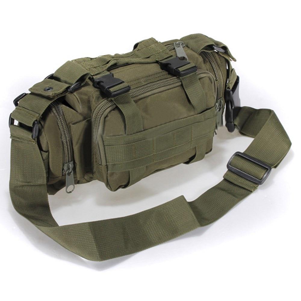 Zapatos de lona de Camuflaje Táctico Militar Molle Utility Cintura bolsa Message