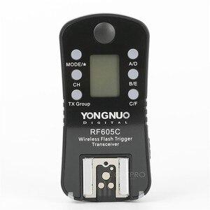 Image 2 - Yongnuo RF605 RF 605 RF 605 = RF 602 + RF603II LCD Wireless Flash Trigger สำหรับ Canon 550D 1200D Nikon D7200 D5300 กล้อง