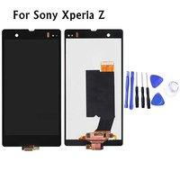 Black For Sony Xperia Z L36h L36i C6606 C6603 C6602 C6601 LCD Display Touch Screen Digitizer