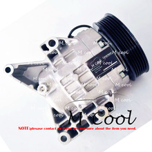 New Ac Compressor For Mazda MX-5 Miata 2006-2012 NEY1-61-450 NEY161450 60-03235 NC new engine timing cover b660 10 501e for mazda mx 5 miata 1999 2005 protege
