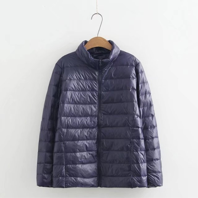 In blue purple Piedi Di Vestiti Collare navy Inverno Plus rose Puro Nuove Piumino Boutique Blue Abbigliamento 2018 Delle Colore Donne Size Red Allentato Yzh320 Modo Femminile Black BnwpXqn1