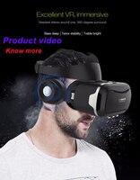 Vr shinecon 4.0 سماعة ستيريو 3d نظارات الواقع الافتراضي 360 درجة غامرة vr نظارات سماعة ل 4.7-6.0 بوصة الذكي
