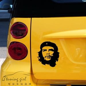 24CM*22CM Che Ernesto Guevara Cuba Revolutionary Car Stickers Creative Decoration Decals Trunk Vinyls Auto Tuning Styling D15(China)