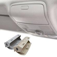 Étui pour lunettes de soleil, rangement pour VW Tiguan Golf Jetta Passat CC Scirocco support de la boîte 2009 2010 Beige/gris 2011