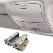 Автомобиль футляр для солнцезащитных очков держатель для VW Tiguan Golf Jetta Passat CC Scirocco 2009 2010 2011 бежевый/серый