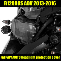 R1200 GS Motorcycle Parts Headlight Protective Cover FOR BMW R1200GS ADV 2013 2014 2015 2016