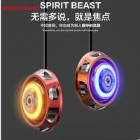 SPIRIT BEAST 2pcs Lot Motorcycle Warning LED Shining Licensing Alloy Card Good Quality Luminous Very Cool