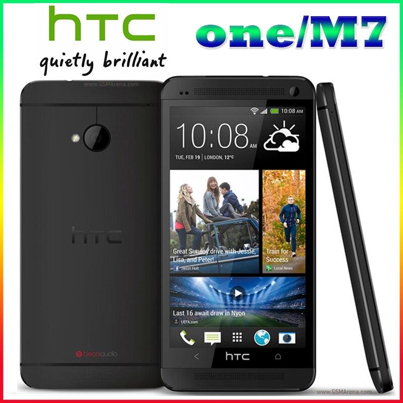 M7 Unlocked Original HTC One M7 801e 32GB Android 4G smartphone Quad core touchscreen silver black