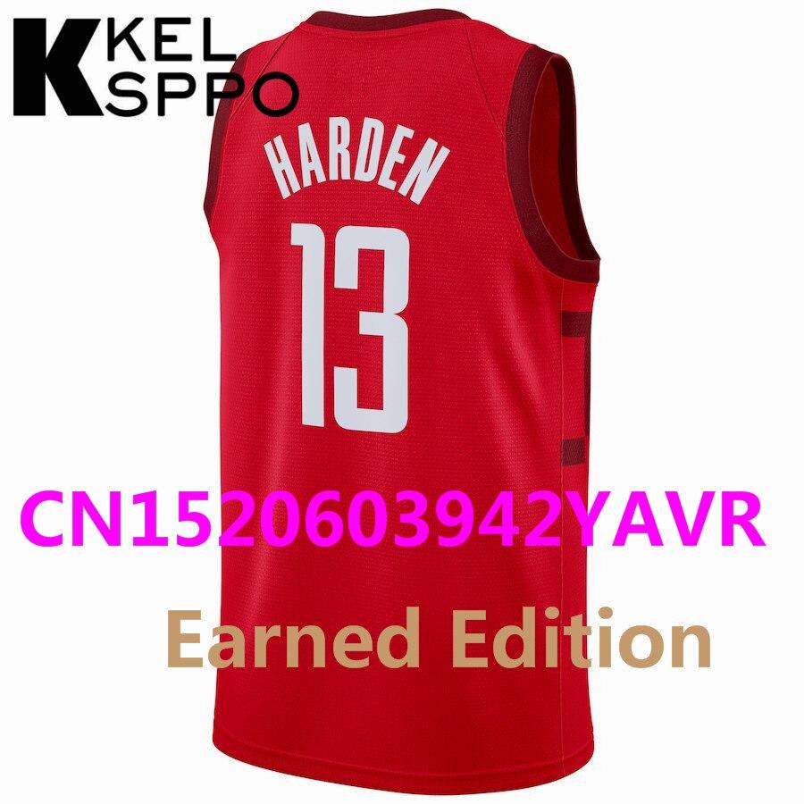 2018 19 City Edition Jersey 3 Chris Paul 13 James Harden 30 Stephen Curry 8  Zach LaVine Jersey Basketball Earned Edition Jersey 18c1db1e8