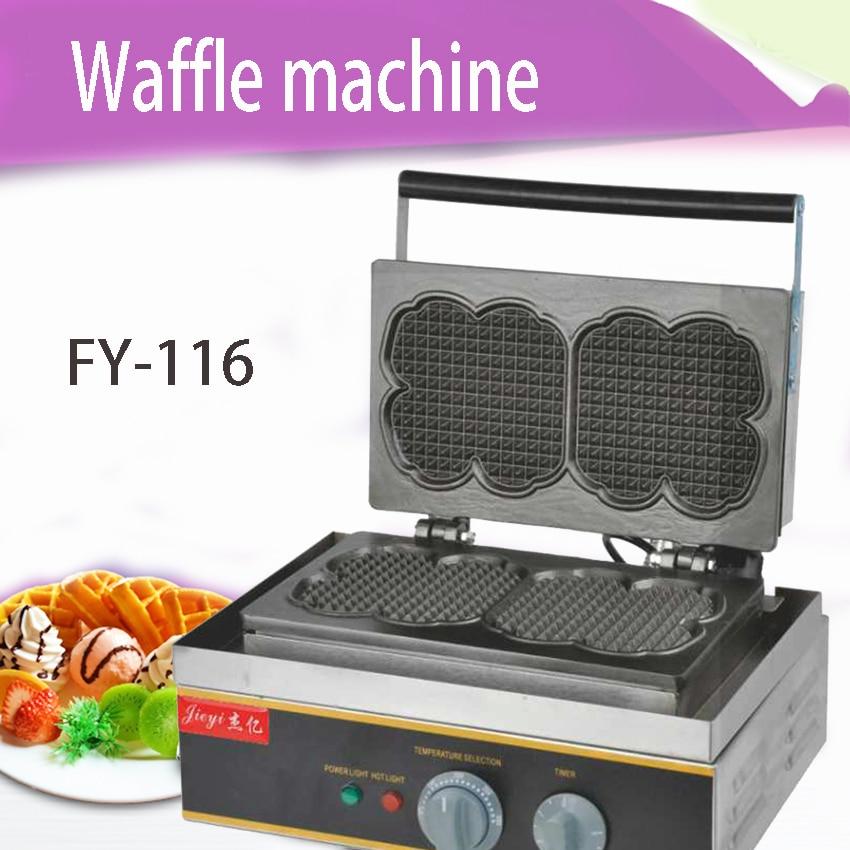 1PC FY-116 Commercial electric muffins machine Nestle furnace cake  Stick Waffle machine custom nestle 1 2 15g 100