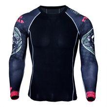 2018 одежда мужская футболка бег эластичный спортивная одежда