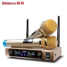 Shinco S2900 microfone Sem Fio one for two TV K-canção com u microfone sem fio Bluetooth