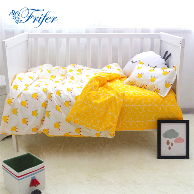 Cute Crown Baby Bedding Set