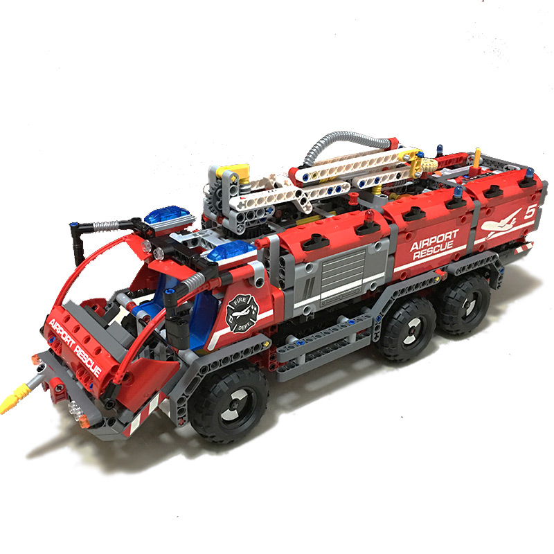 Lepin 20055 1180PCS science and technology machinery series airport rescue car children assembly toy education building blocks энкор 20055 g 250