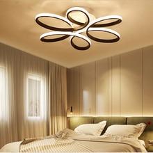 Modern led chandelier for living room bedroom study room aluminum body Indoor home chandelier lamp lighting fixture AC85-265V цены онлайн