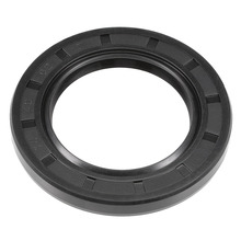 Uxcell Oil Seal TC 40 x 62/64 7/8/10mm Nitrile Rubber Cover Double Lip Hardware  For Phosphate Series Hydraulic Gear Oils