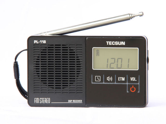 TECSUN PL-118 Ultra-Light Mini Radio, PLL DSP FM Band Radio