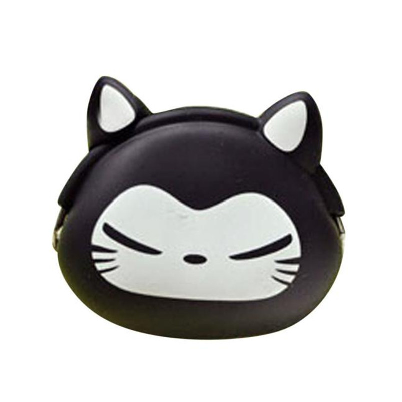 2017 Most Popular Women Female Cute Mini Purse Soft Surface Fastener Female Cartoon Silicone Coin Bag As a Gift For Girl A7 22mm mounting diameter metal usb2 0 female a change to female a black surface