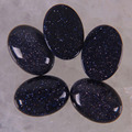 18x13 мм Синий Песчаник овальный кабошон ювелирные изделия для женщин подарок бисера (10 шт./лот) H026