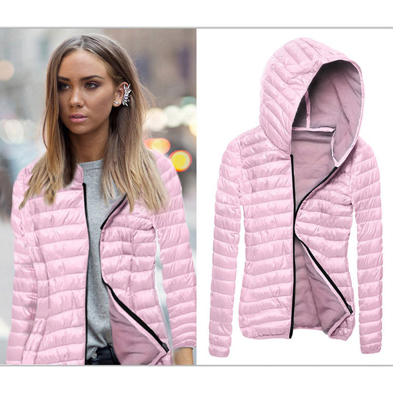 Plus size Autumn Bomber Women Jacket 2018 Fashion Ladies Zipper Outwear Female Clothing Black Women Hooded Jacket AJT599 1