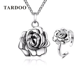Tardoo authentic 925 sterling silver necklaces rings jewelry sets for women romantic style wedding enganment fine.jpg 250x250