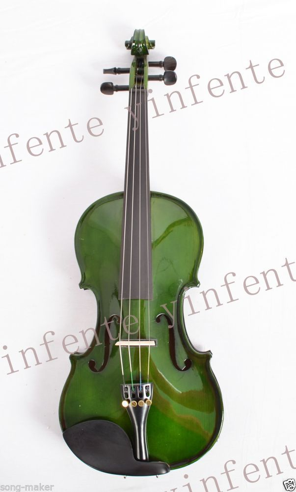 4 string Electric Acoustic Violin Solid Wood Nice Sound 4/4 4 4 electric violin infinite brand paten pick up nice