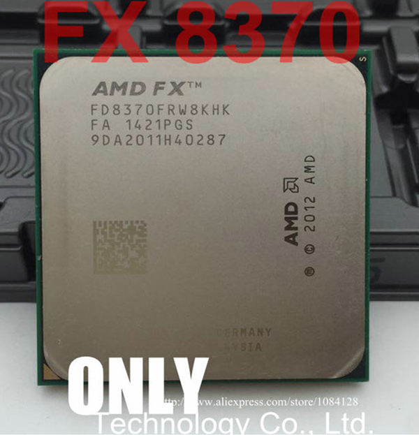 US $113 0 |FREE SHIPPING Original AMD CPU AMD FX 8370 FX 8370 AM3+ EIGHT  CORE 4 0GHZ4 3 16MB 125W-in CPUs from Computer & Office on Aliexpress com |