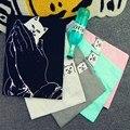 Ripndip t-shirt das mulheres dos homens de vendas quentes moda bolso impressão cat homem camisetas Casais Marca Kpop Tees S-XXL RASGAR N DIP Homme Puxar