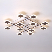 Omicron Modern LED Creative Chandeliers For Lighting Bedroom Living Room Dining Iron Lustre Light Fixtures